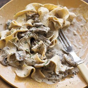 Steak and Mushroom Stroganoff  I'm trying this with chicken instead!                                        Williams-Sonoma
