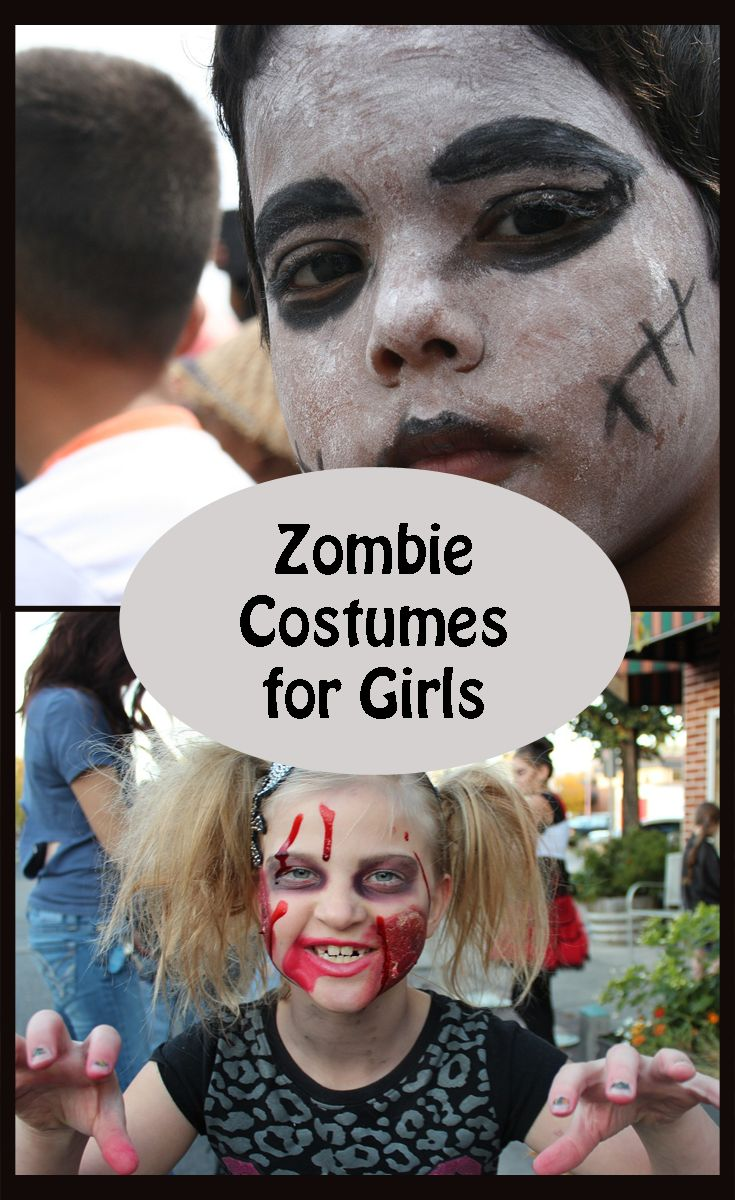 Cool Zombie Costumes for Girls ideas
