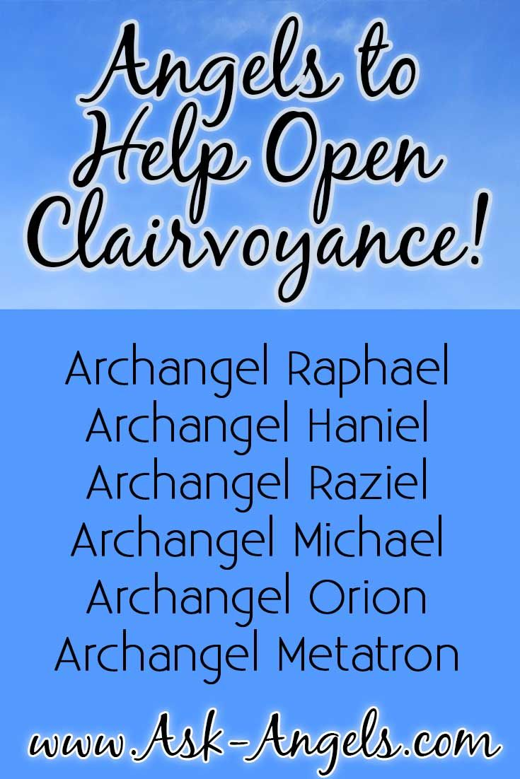 Archangels are messengers of the Divine, and are powerful allies for helping you to keep your psychic and spiritual gifts open, awakened, and clear.  Click to learn more about the Angels who can help you open your clairvoyance!   >> http://www.ask-angels.com/spiritual-guidance/how-to-become-clairvoyant/  #clairvoyance