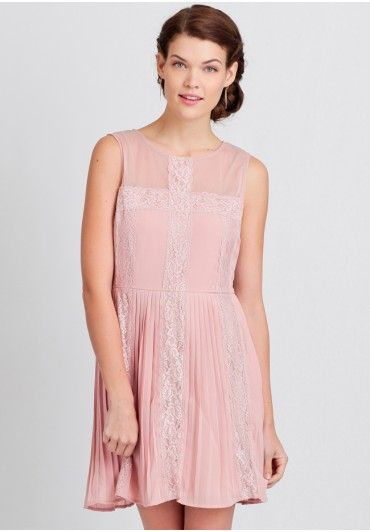 Tealy lace dress
