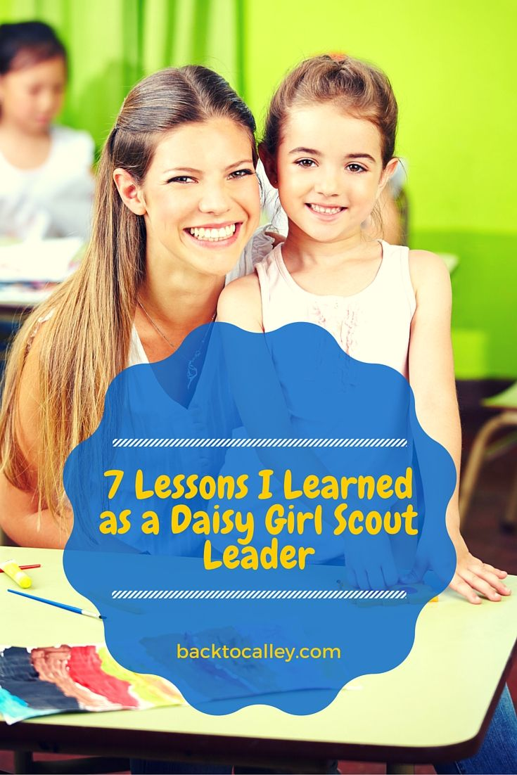 7 Lessons I Learned in My First Year as a Daisy Girl Scout Leader