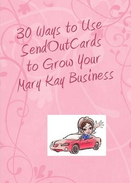 Are you a Mary Kay consultant what a great card to send to your hostess to help her plan for her party.