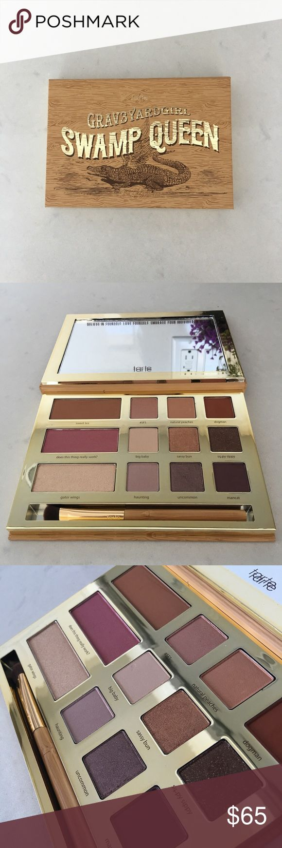 Tarte Swamp Queen Eyeshadow Palette Limited edition Swamp Queen palette from tarte and grav3yardgirl. Never been used! Sorry no trades.  tarte Makeup Eyeshadow