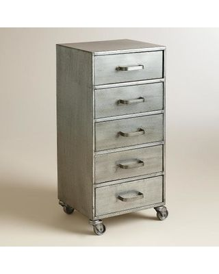 rolling file cabinet world market with drawers lock and wheels wood