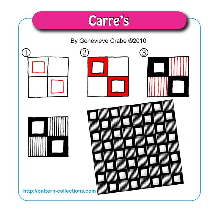 Carre's by Genevieve Crabe