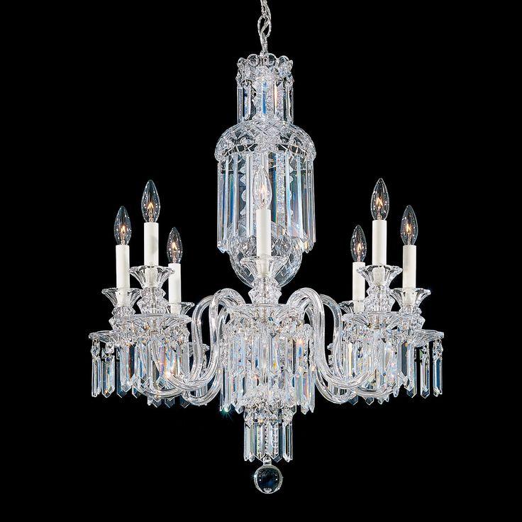 Fairfax 8 Light Crystal Chandelier Crystal ChandeliersCrystal