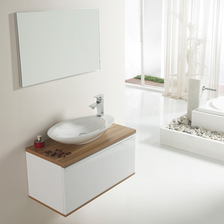 40 best muebles de ba o images on pinterest bathroom furniture armoire - Mueble bano estrecho ...