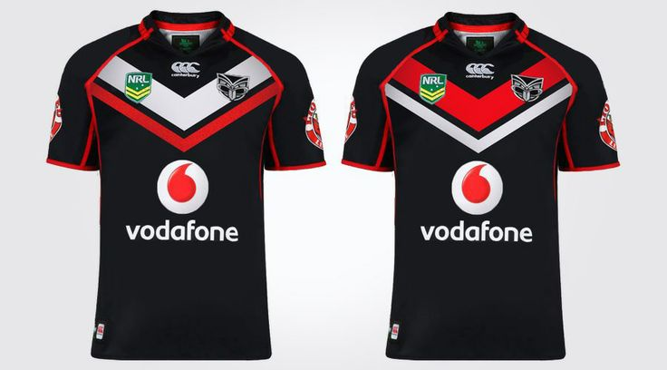 NZ Warriors NRL jersey re design. View the full project at www.ruffhausdesign.co.nz