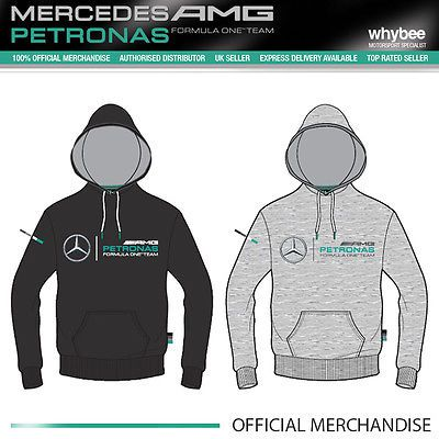 2015 mercedes-amg formula one f1 team mens logo #hooded #jumper #grey/black,  View more on the LINK: http://www.zeppy.io/product/gb/2/181863811131/