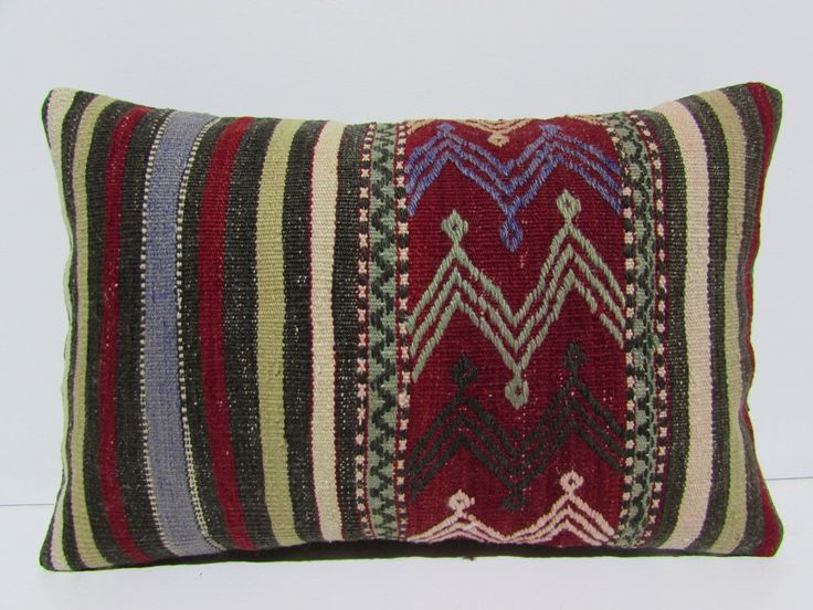 red kilim pillow 16x24 rustic bedding turkish cushion hippie textile boho pillo cover bohemian fabric red pillows decorative pillow 30547 by DECOLICKILIMPILLOWS on Etsy https://www.etsy.com/listing/245849351/red-kilim-pillow-16x24-rustic-bedding