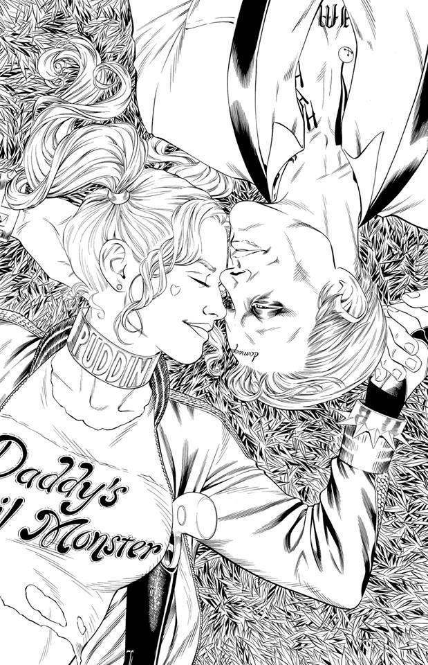 Emejing Joker And Harley Quinn Coloring Pages Ideas - Coloring ...