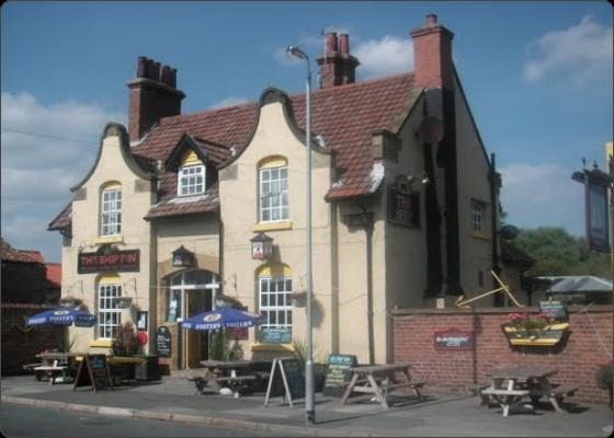 The Ship. Local pub (pub, pub). Muston, Filey.