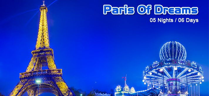 #EuropeGroupTours Offers Book #BestLuxury #Paris #Holiday #TourPackages 2015 from #Delhi #India with best deals on #Hotels or #Resorts.