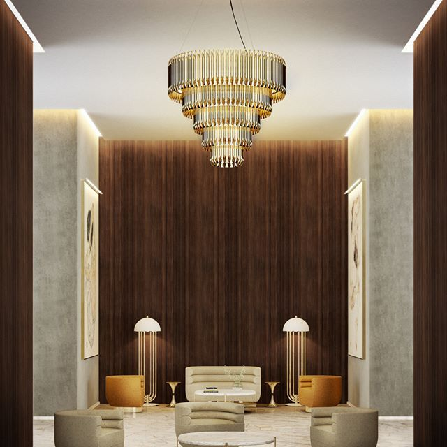 Don't be afraid to mix your lighting up. Don't always go for traditional bathroom lighting. I have a huge chandelier hanging over my bath tub and it creates an instant wow factor.