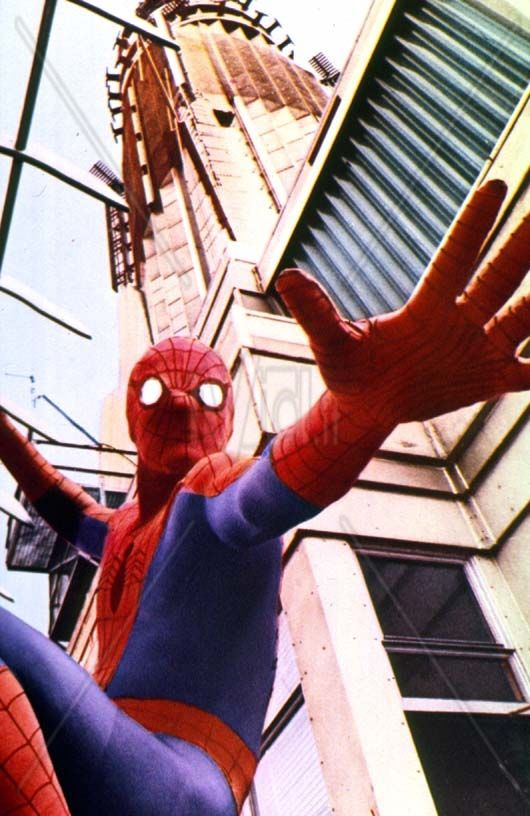 Marvel in film n°1 - 1977 - The Amazing Spider-Man - Nicholas Hammond as Spiderman