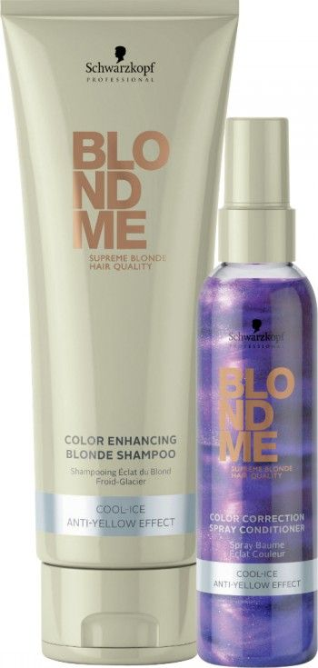 BLONDME by Schwarzkopf Professional Chills for Winter with the Cool-Ice Range! - My Organized Chaos