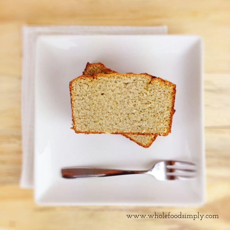 Lemon and Coconut Loaf - Wholefood Simply