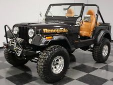 Jeep : CJ 7 Renegade 4.2 l inline six 4 speed manual 4 inch lift moser axles detroit locker 4.88