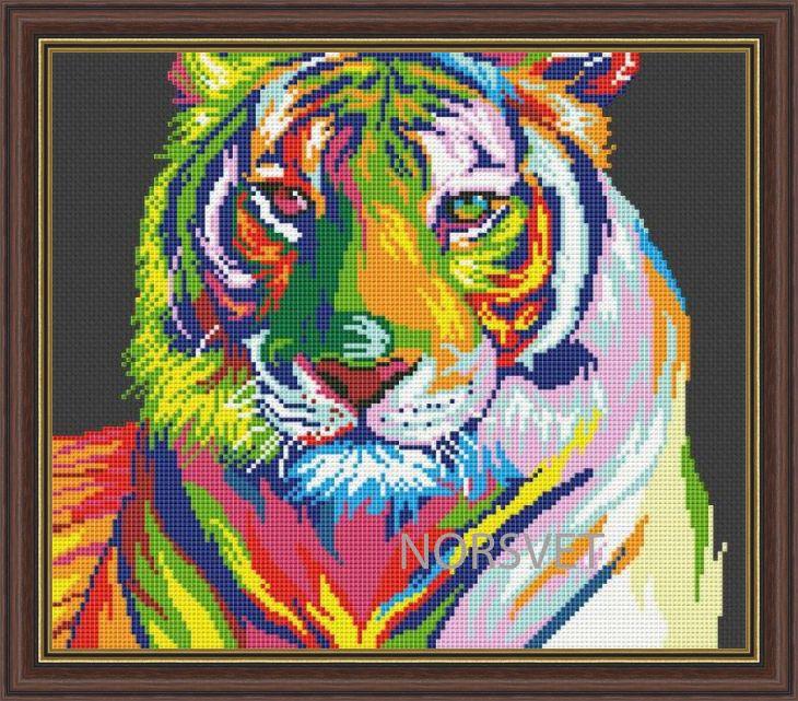 Gallery.ru / Tigress Rainbow - Rainbow - Norsvet