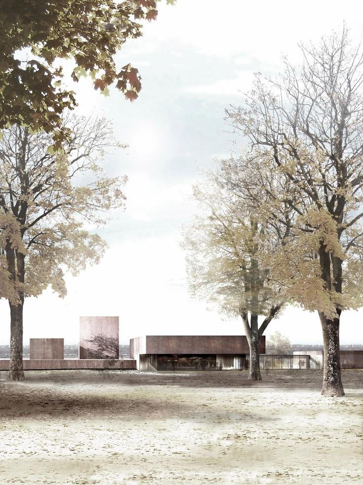 78 images about l 39 architecture du mus e soulages on. Black Bedroom Furniture Sets. Home Design Ideas