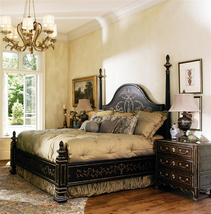 high end master bedroom set manor home collection
