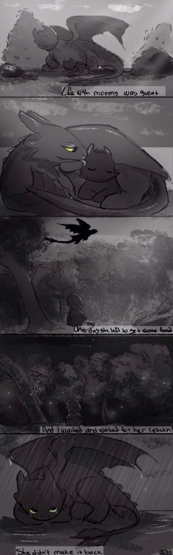 Toothless and his mother<<< THERE WENT MY HEART<<<WHO SAID THIS WAS AN OKAY THING TO MAKE?<<<<<NOOO OOONNNNEEE