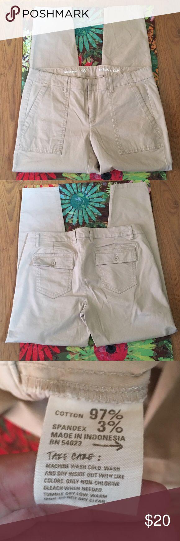 NWOT🆕 Gap Skinny Mini Kakis NWOT 🆕 Excellent Condition❣ GAP Jeans Skinny