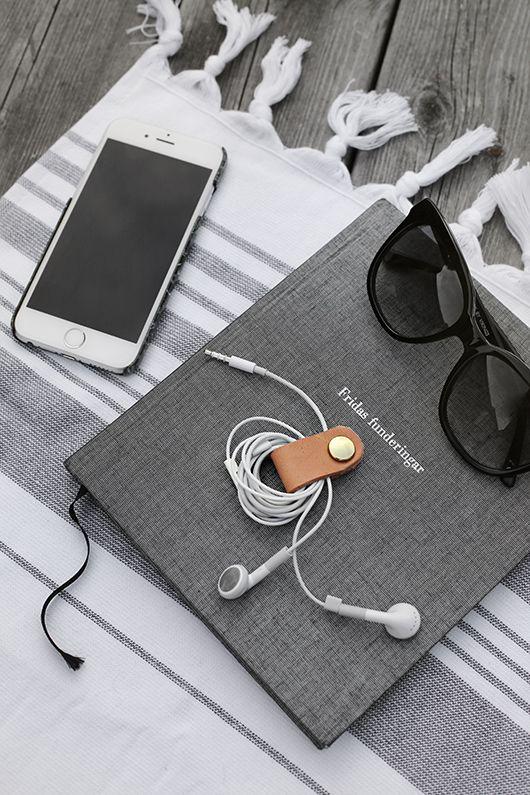 DIY: Hållare för hörlurar