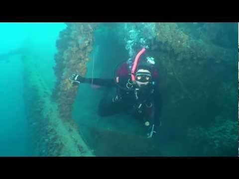 "Wonderful video footage, featuring the wrecks of the Corinthian Gulf. Click ""play"" on the video below and watch the 3 shipwrecks, all of them located in the area around Psathopyrgos (Rio, Arachovitika).  Want more? Book your room now and join the diving groups of Florida Blue Bay Resort!"