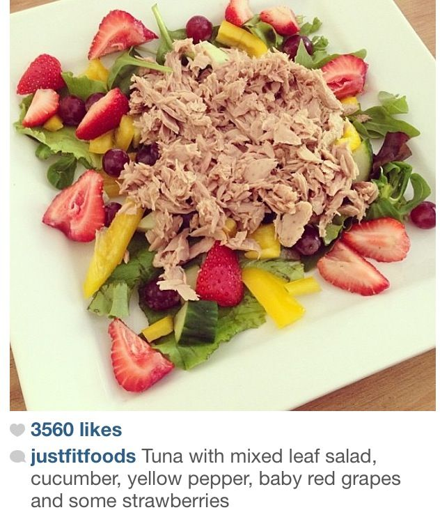 27 best healthy meals from instagram images on pinterest clean tuna and fruit find this pin and more on healthy meals forumfinder Images
