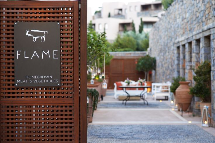 #DidYouKnow that many of the specialty herbs and vegetables served at #Flame Restaurant are handpicked by our chefs shortly before preparation, direct from the restaurant's purpose-built gardens?