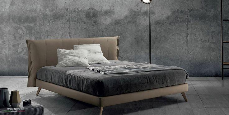 TEO 14  letto in promozione  collezione Big Bang #letto #imbottito #contenitore #promozione #promo