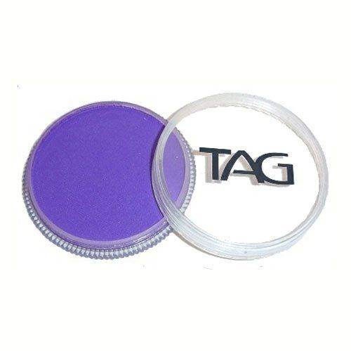 TAG Face Paints - Purple (32 gm) by TAG Body Art. $6.47. Each 32 gram TAG Face Paint Container is good for 50-200 applications.. Great for line work. TAG face paint is hypoallergenic and made with non-toxic, skin safe ingredients.. TAG Face Paint is very easy to blend, soft on the skin and does not crack or peel.. TAG Purple Face Paint is very easy to blend, soft on the skin and does not crack or peel. Most of TAGs face painting colors are great for line work and lighter face p...