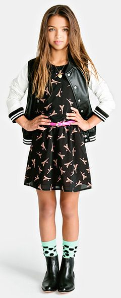 Junior Girls clothing, kids clothes, kids clothing | Forever 21. I love the outfit but I would wear black combat boots with it instead
