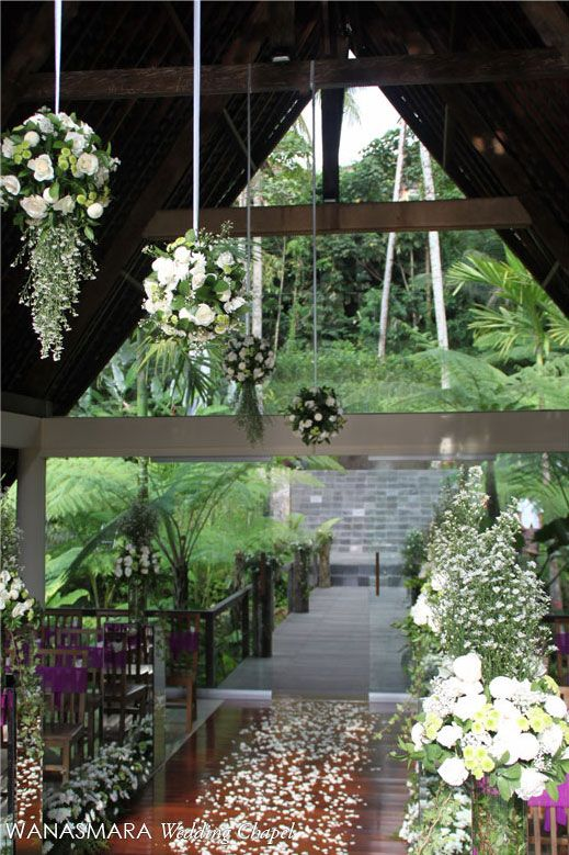Luxury Wedding at Wanasmara Chapel Komaneka at Bisma Ubud Bali