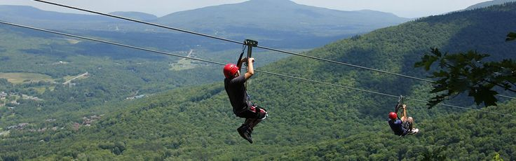 New York Ziplines and Canopy Tours in the Catskills |   Hunter Mountain 64 Klein Ave Hunter , NY 12442