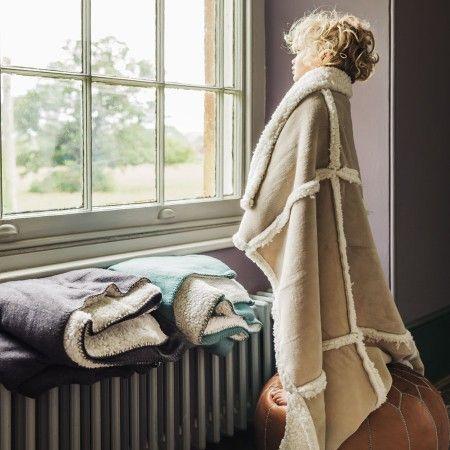 Faux Sheepskin Blankets - View All Bedroom - Bedroom - Kitchen, Bed & Bath