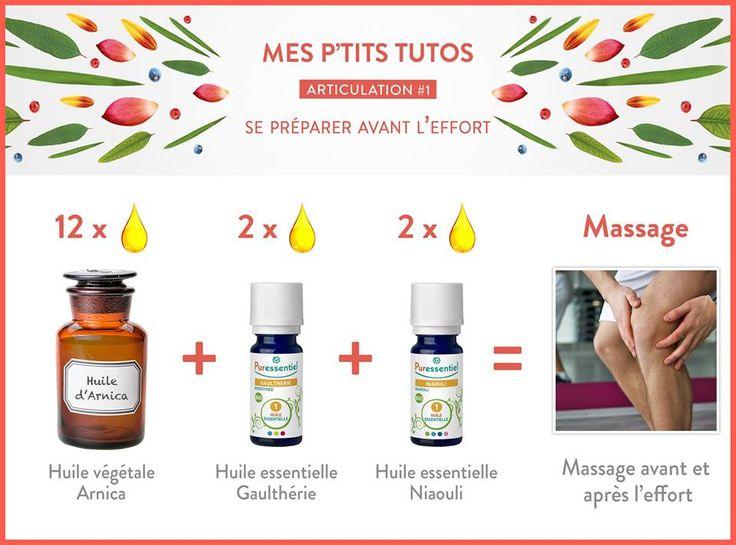DIY : Avant l'effort on se prépare pour stopper les douleurs avec les huiles essentielles