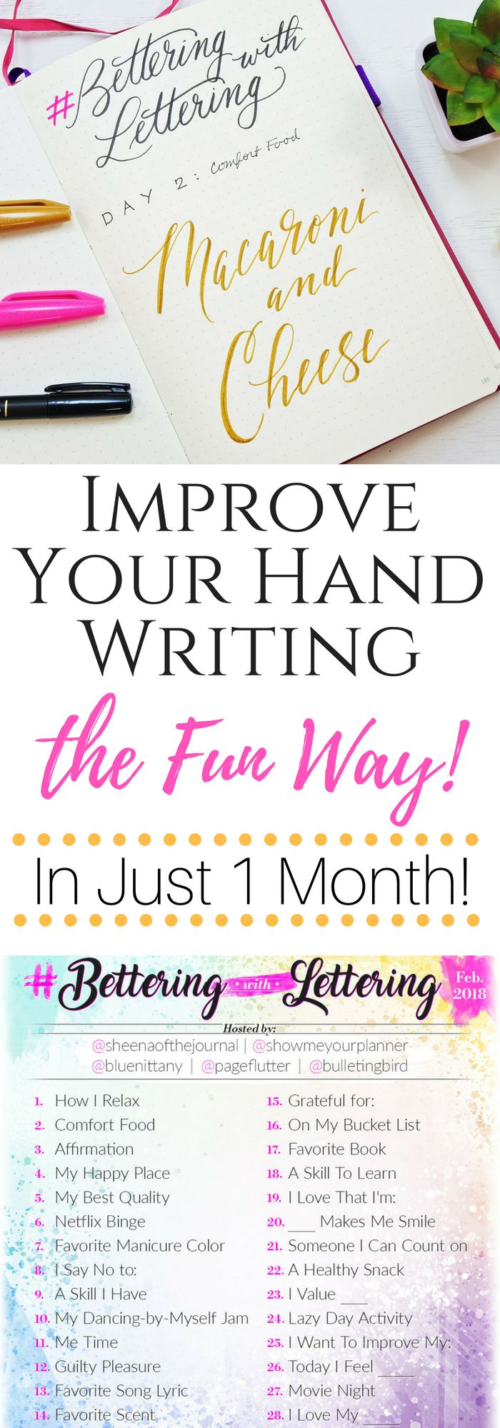 Write something everyday