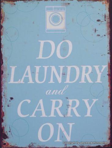 Blechschild Waschmaschine hat Vorfahrt Vintage Geschenk NS-255 TIN PLAQUE LxW: 3