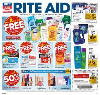 Rite Aid Weekly Ad July 16 - 22, 2017 - http://www.olcatalog.com/grocery/rite-aid-weekly-ad.html
