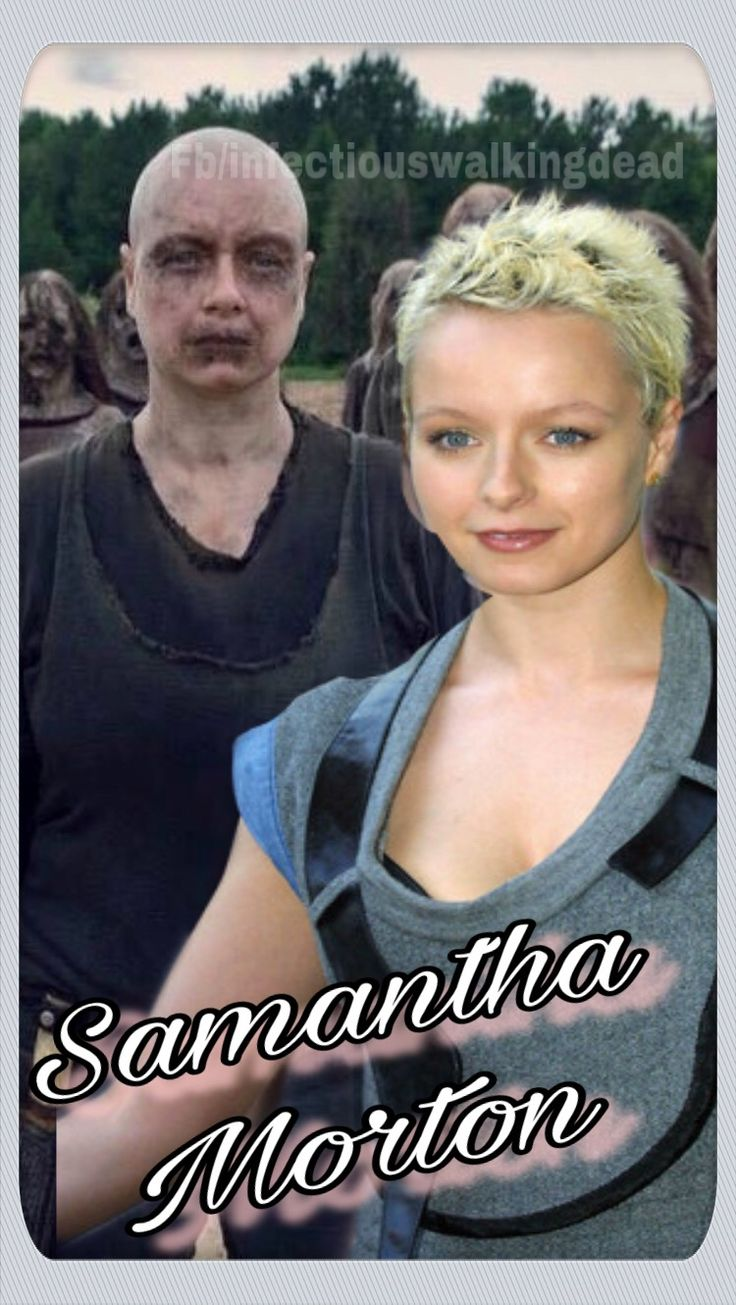 ALPHA (Samantha Morton) The Walking Dead (AMC