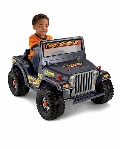 Everett maybe power wheels hot wheels 6 volt ride on for Hot wheels motorized jeep