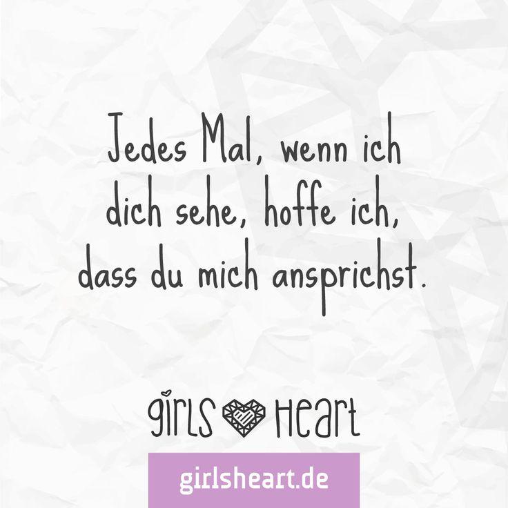 Einer muss den ersten Schritt machen.  Mehr Sprüche auf: www.girlsheart.de  #warten #liebe #heimlich #verliebt #sehnsucht #ersterschritt #schmetterlingeimbauch