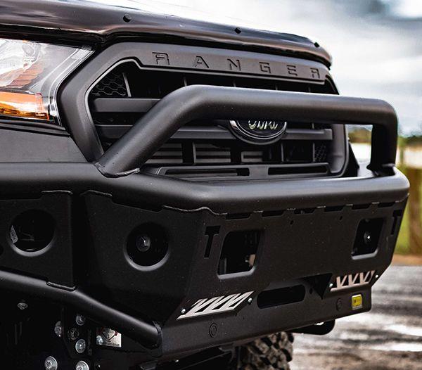 Chaser Bull Bar Modern Vehicle Protection Fully Equipped Ford Ranger Ford Ranger Wildtrak Ford Ranger Raptor