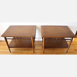 Lane Acclaim End Tables Pair 445 Sold Vintage I Want