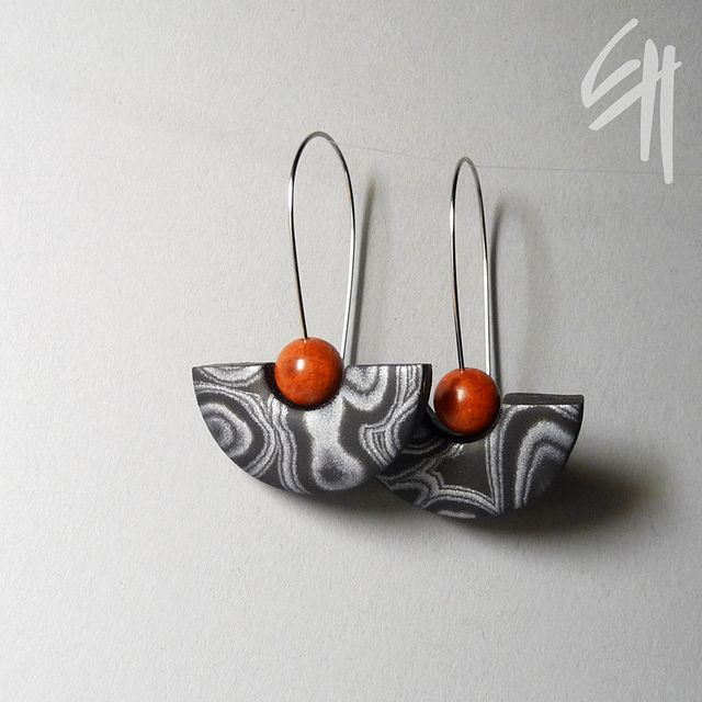 Polymer clay jewellery   Flickr - Photo Sharing!