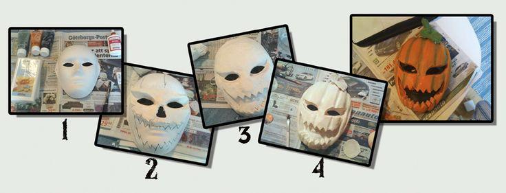 Skapa Din egen Halloween mask – hur gör man?
