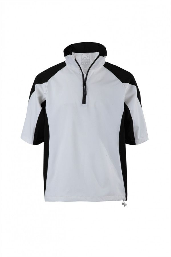 Woodworm Golf V2 Waterproof Half Sleeve Top White - Golf Outlets of America - Golf Outlets of America #Golf #sports #Coupons #athlete