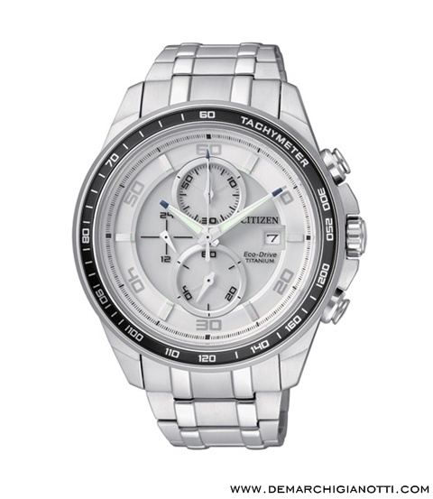 Citizen Crono Supertitanio  Eco Drive ca0340-55a  www.demarchigianotti.com